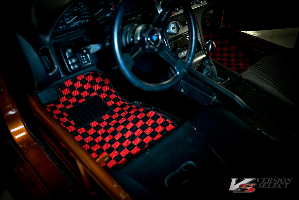 ***TF*** Nissan S13 Checkered Floor mats for LHD- Pre ...