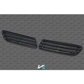 Mitsubishi EVO X Carbon Fiber OEM Style Hood Vents